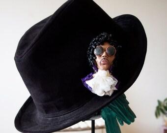 Prince, Purple Rain, Collectible, Brooch, Pendant, Music Icon, unique, jewelry, Genius, Love, Kiss, Dream, Art, Dove, Spirit, Funk,