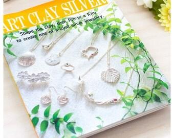 Japanese Art Clay Silver Craft Book, Art Clay Silver Jewelry Pattern Book, Japanese Craft Book