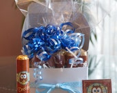 It's a Boy! It's a Girl Cigar (Rolo). Personalized Party Favor Wrappers, Baby Announcement, candy bar wrapper. Set of 24