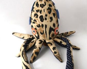 wild squid unique stuffed animal
