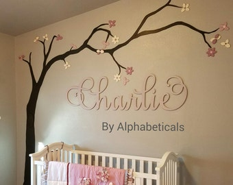 nursey name letters for wall wood letters wooden letters for nursery wall decor cursive name sign wooden signs wall letters alphabeticals