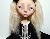 SALE Handmade Collectible Unique -OOAK- Art doll- Clay Jointed -Margo