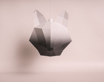 Penguin do it yourself paper lamp shade fox large black gradient do it yourself paper lamp shade solutioingenieria Image collections