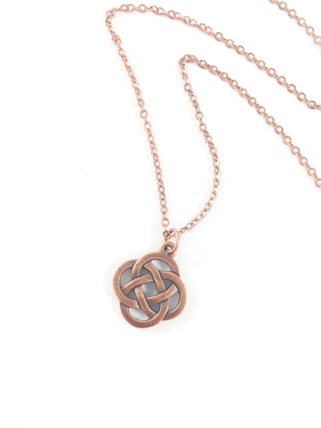 celtic necklace love knot necklace eternity necklace irish. Black Bedroom Furniture Sets. Home Design Ideas