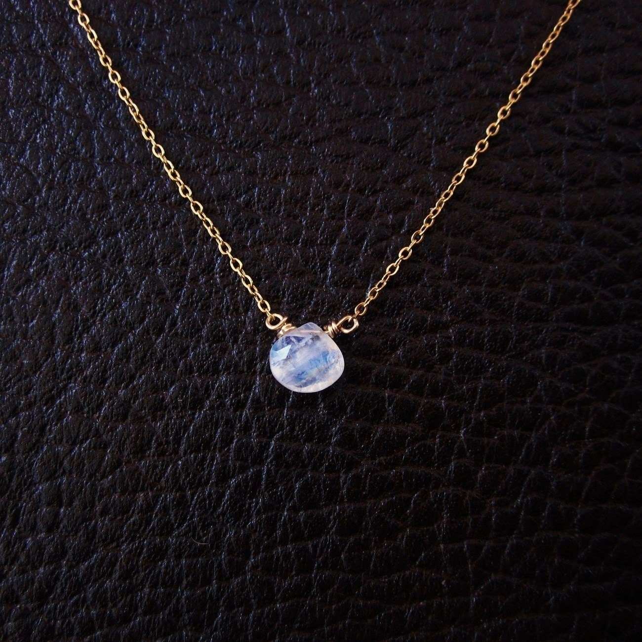 moonstone necklace moonstone pendant charm necklace