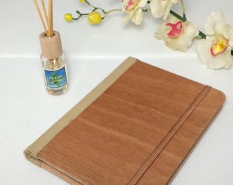 Scent Natural Wood Journal, Wood Sketchbook, Scent Cover, Wood Notebook, Travel Notebook, Diary, Notes