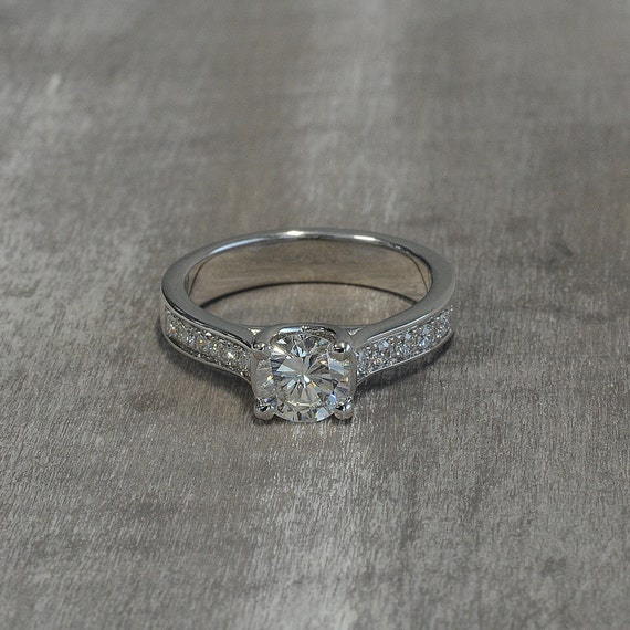 Promise ring for her engagement diamond delicate