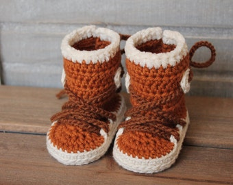 Crochet Baby Baseball Boots Pattern : Baby Boys Crochet PATTERN Boys Patterns Baby Crochet Shoes