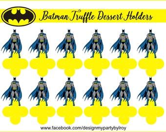 BATMAN FORMINHAS, BATMAN Candy Holders, Batman Party Supplies, Batman Paper Supplies, Batman Party Favors, Batman Boxes, Batman Cups,Batman.