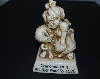 Grandmother Is Another Word For Love Grandson Figurine
