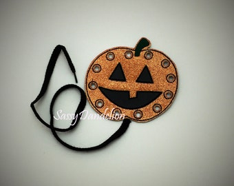 Halloween Pumpkin Lace-Up Toy