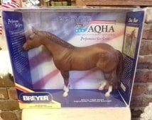 Breyer New in box collectible horse from 1990, Doc Bar Breyer Horse, Sire Series Breyer Horse