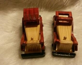 Vintage Wooden Cars