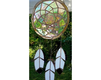 Stained Glass Dreamcatcher - Made to Order