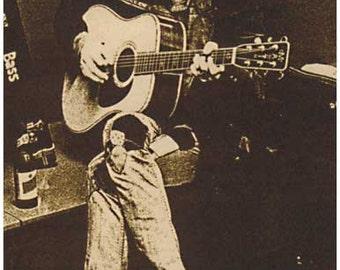 Neil Young Sepia  Rare Poster