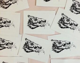 Boar Stickers