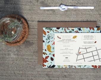 Custom Wedding paper design service