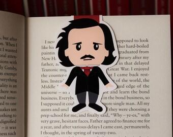 Edgar Allan Poe Magnetic Bookmark