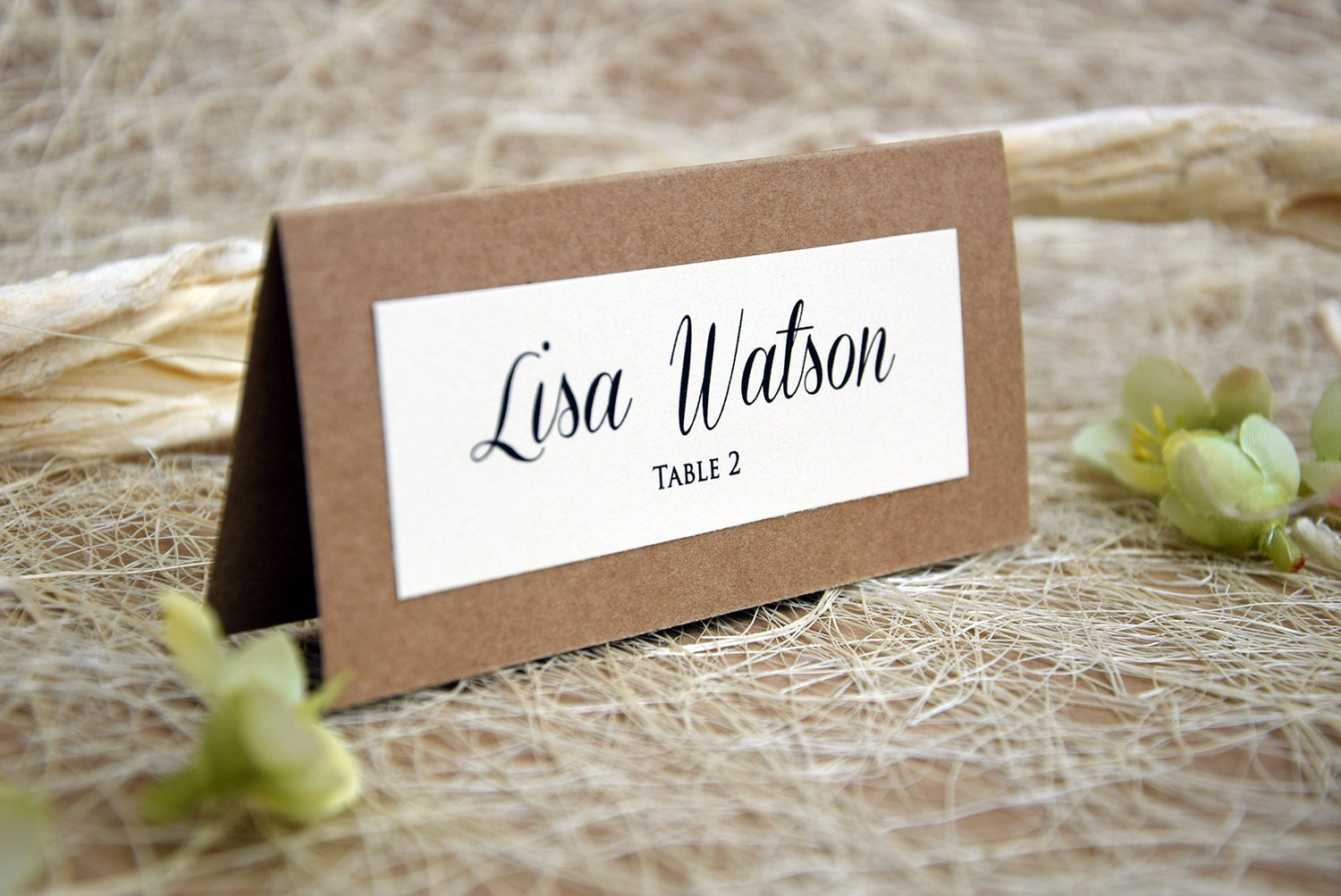 Simple Wedding Place Cards, Wedding Place Cards, Escort Cards, Place ...
