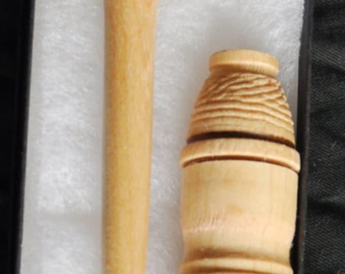 Maple wood stitch lay helper tool  plus maple case  sku18 (set)