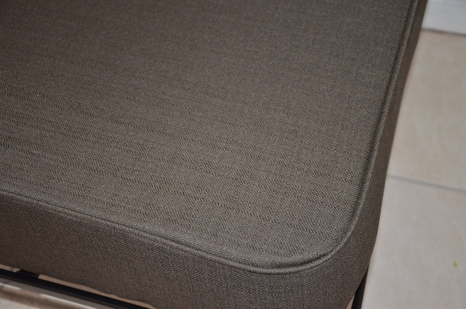 Daybed Matching Tailored Fitted Cover Twin Xl Linen Graphite