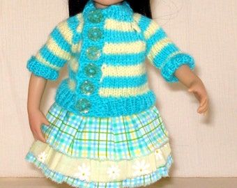 "Little Darling Doll outfit/ 13""inch dolls clothes"