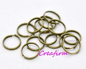 300 double rings 12mm bronze