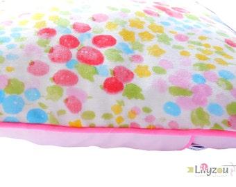 Cushion cover 30 x 30 cm double gauze multicolored Japanese