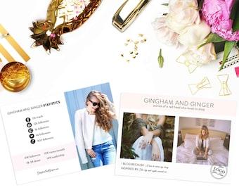 Custom Blogger Postcard