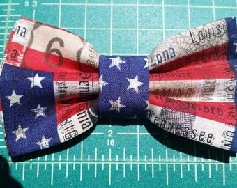 Patriotic Adjustable Boys Bow Ties!