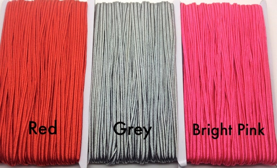 Basket Weaving Supplies Toronto : M soutache braid mm cord gray red