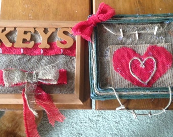 Set of Country Frames/Keyholder