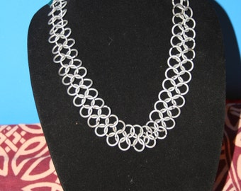 Medieval Chainmaille Necklace/Choker