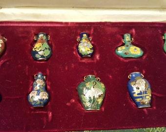 1970s Peking Jewelry Set