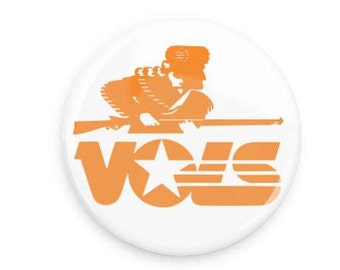 Vintage VOLS Gameday button pin