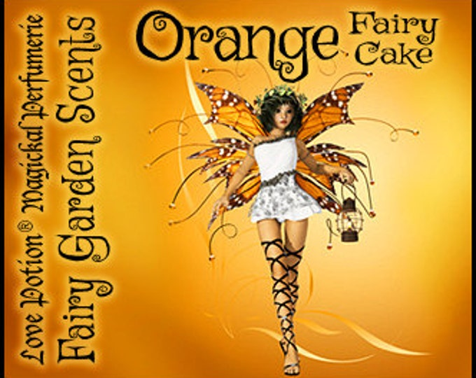 Fairy Cake: Orange - Sweet & Youthful Layerable Perfume - Love Potion Magickal Perfumerie