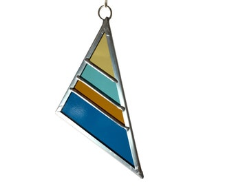 Stained Glass Triangle Fall