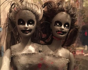Scary Halloween Dolls