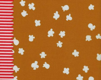 1 Yard Penny Arcade by Kimberly Knight for Cotton and Steel 3030-3 Popcorn Caramel