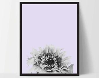 Sunflower decor etsy for Sunflower bedroom decor