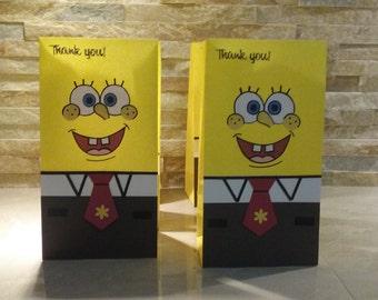 Sponge Bob Goodies Bags