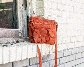ORGANIC Crossbody Bag ~ Sahara
