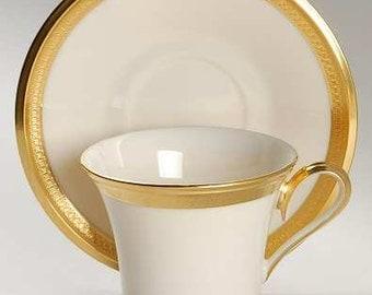 Lenox Aristocrat Cup and Saucer - Set of 12