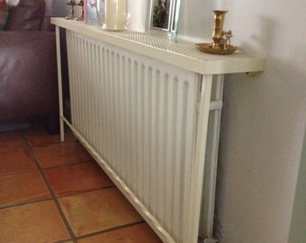 Radiator Cover, Table, Wrought iron table