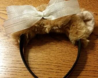 Headband Bear -Cindy Lou