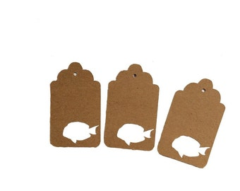 Tang Fish Gift Tags