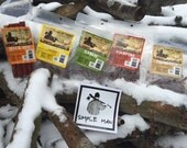 Beef Jerky Sampler Pack--Simple Man Natural Jerky is low sodium with no added preservatives