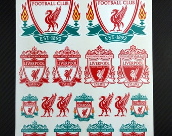 Liverpool stickers football club high quality decals