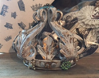 Marie Antoinette Crown Santos Embellished French Bavarian Style