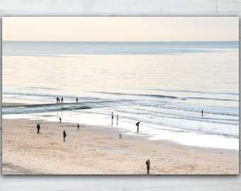 Direct print on acrylic glass - Smalls on the beach - Limited edition
